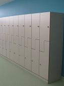 Z Lockers with Padlock Locks - Laundry Project 4.2
