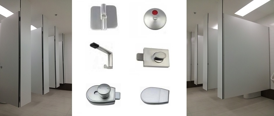 Suspended Toilet Partitions and Hardware