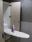 Locker with fold out ironing board 1.2