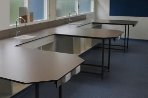 School Laboratory Compact Laminate Benchtop